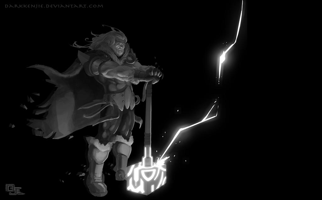 The God Of Thunder! by DarkKenjie