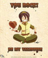 Toph Love by DarkKenjie