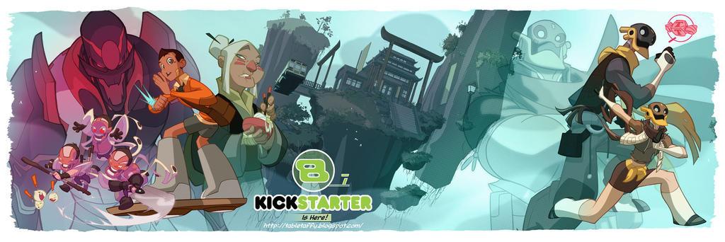 Bastion's 7 Kickstarter Launched! by DarkKenjie