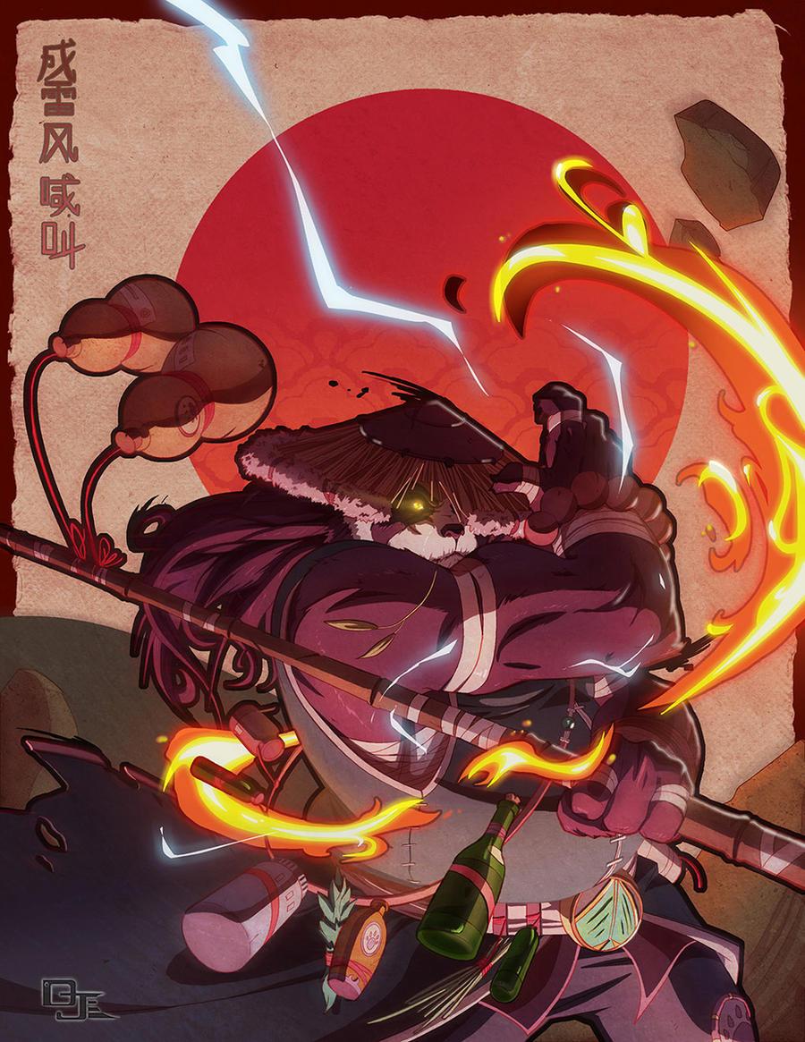 Chen Stormstout by DarkKenjie