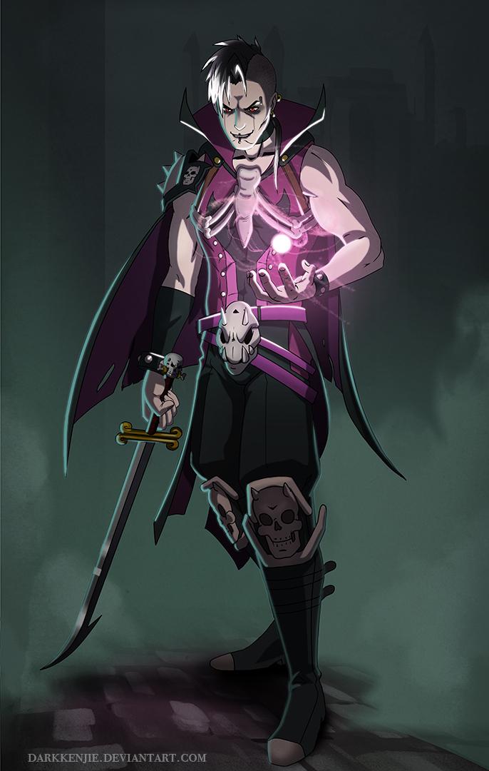dark mage by darkkenjie on deviantart