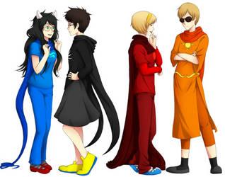 HS - Costume Swap by feshnie