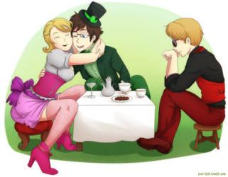 HS - Tea Party by feshnie