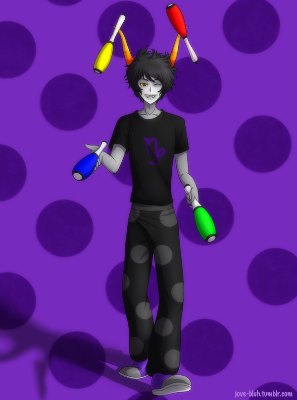 [Image: commission___juggling_gamzee_by_feshnie-d62ilr0.png]