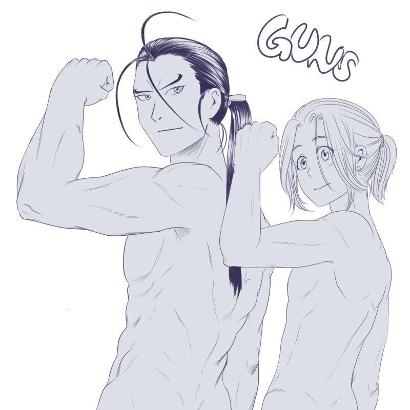 Arslan Senki Guns By Feshnie On Deviantart