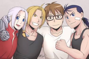 Arakawa's Boys by feshnie