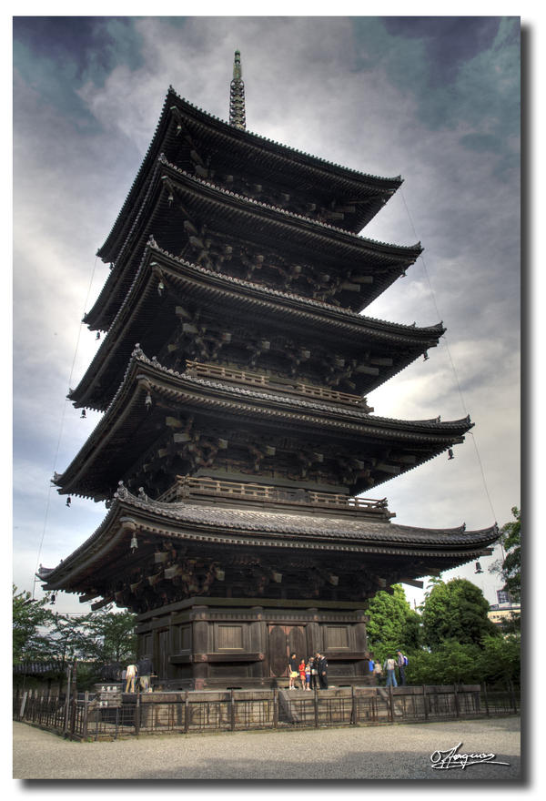 Toji Temple by dragonslayero
