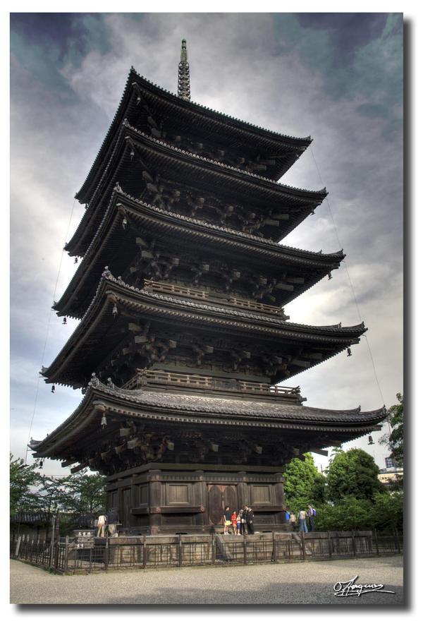 Toji Temple by dragonslayero