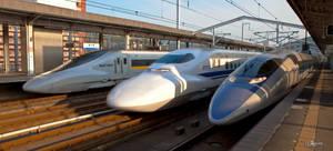 Tripple Shinkansen