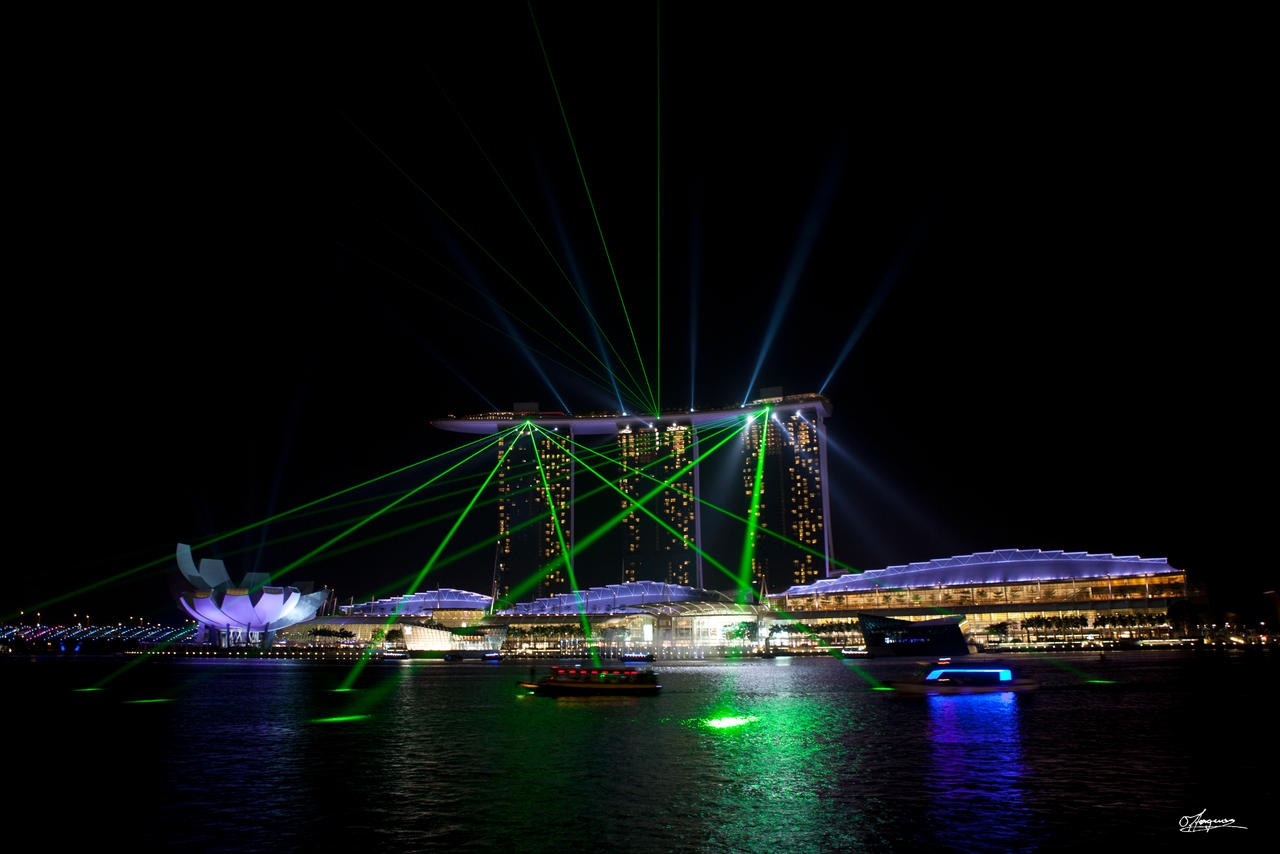 Singapore Lightshow