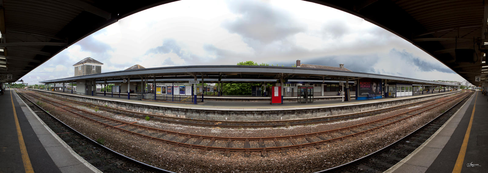 Plymouth station pano