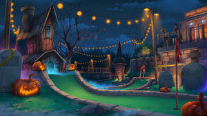 Halloween Mini Putt