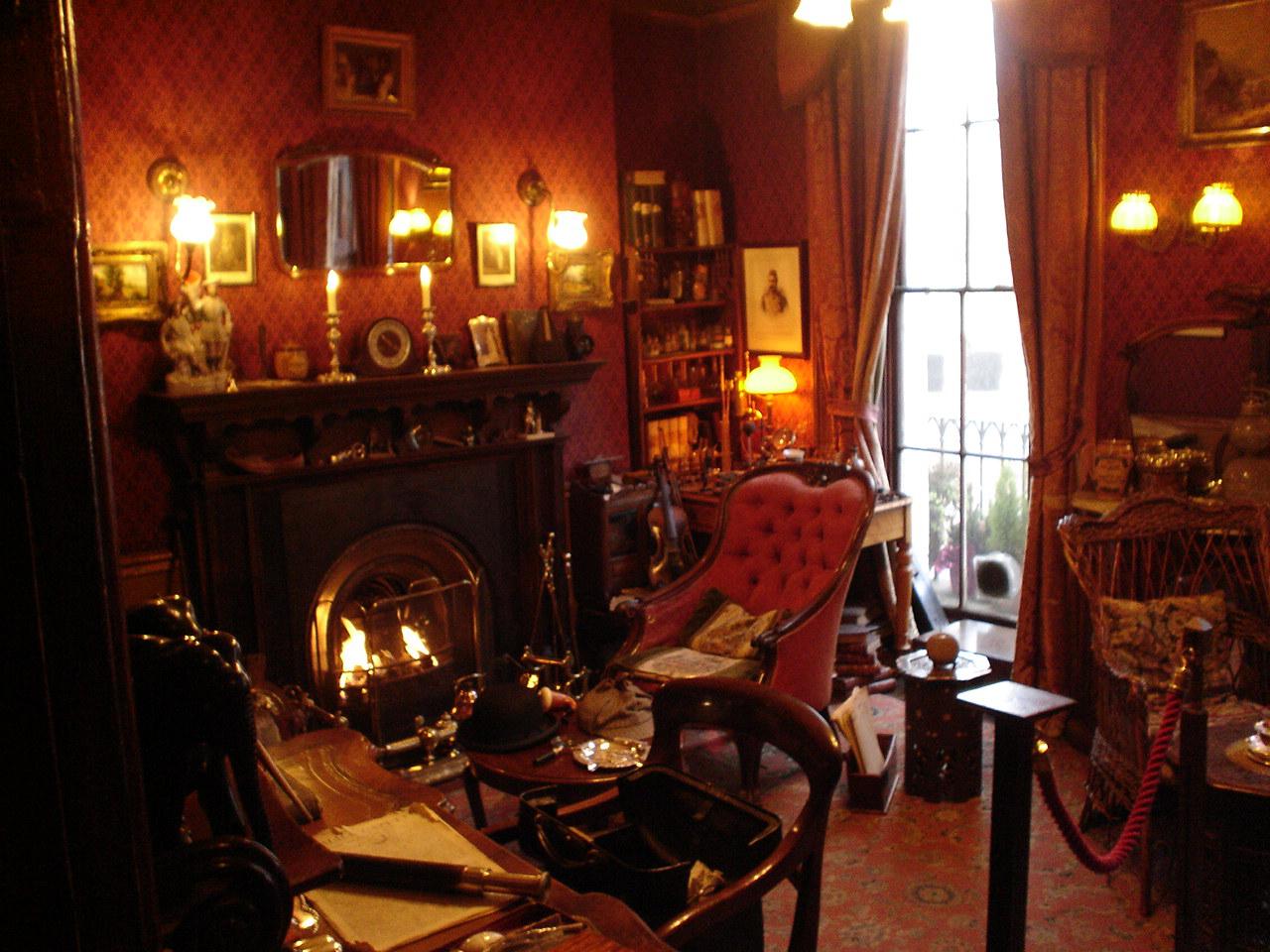 Sherlock Holmes Museum London by halconrojo2006