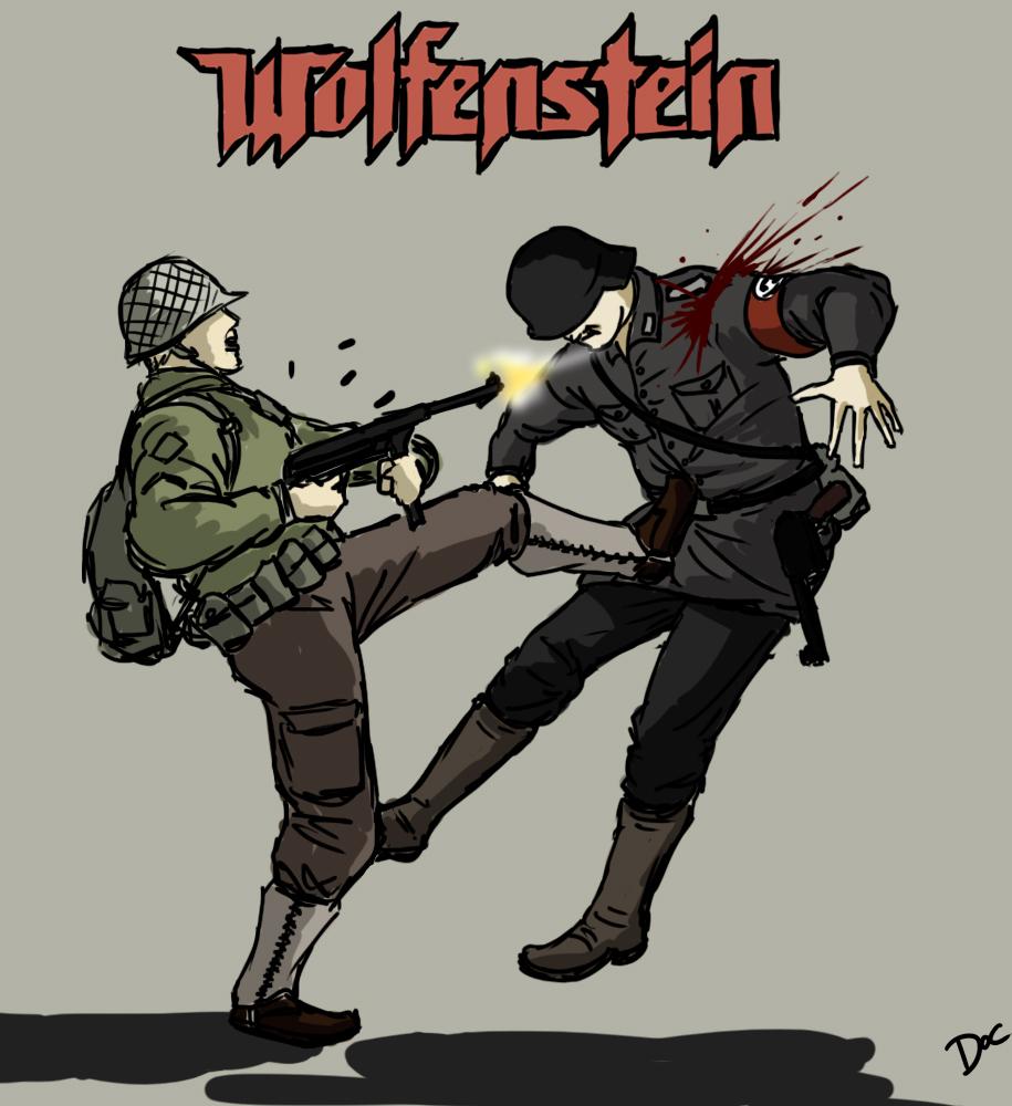 Wolfenstein By Oldquaker On DeviantArt