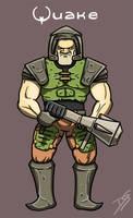Quake guy by Oldquaker