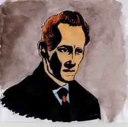 Peter Cushing by Oldquaker