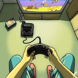 First person gaming by Oldquaker