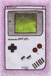 Game Boy fan art by Oldquaker
