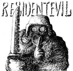 Resident Evil fan art by Oldquaker