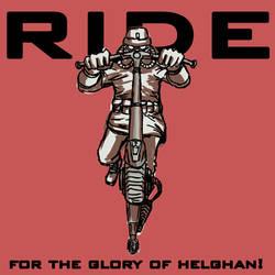 Helghast scooter (Killzone fan art) by Oldquaker
