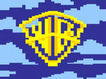 Warner Brothers title screen painted in Excel