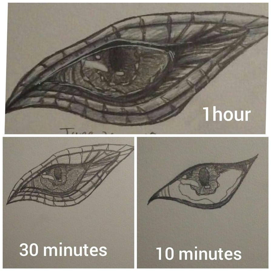 Dragon Eye by zodiacart14