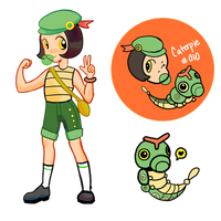 Caterpie Gijinka