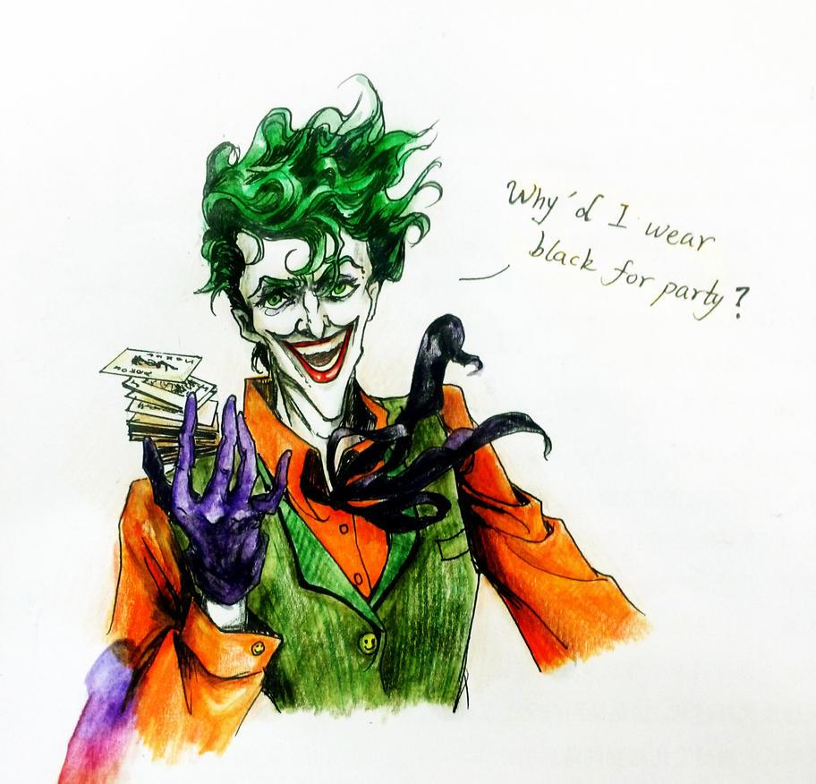 Joker colors by lovejoker4ever on DeviantArt