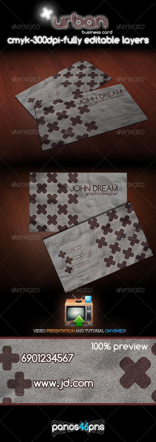 Urban Business Card by panos46