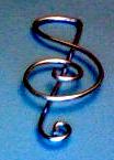 Treble Clef Bookmark by pcanjjaxdcd