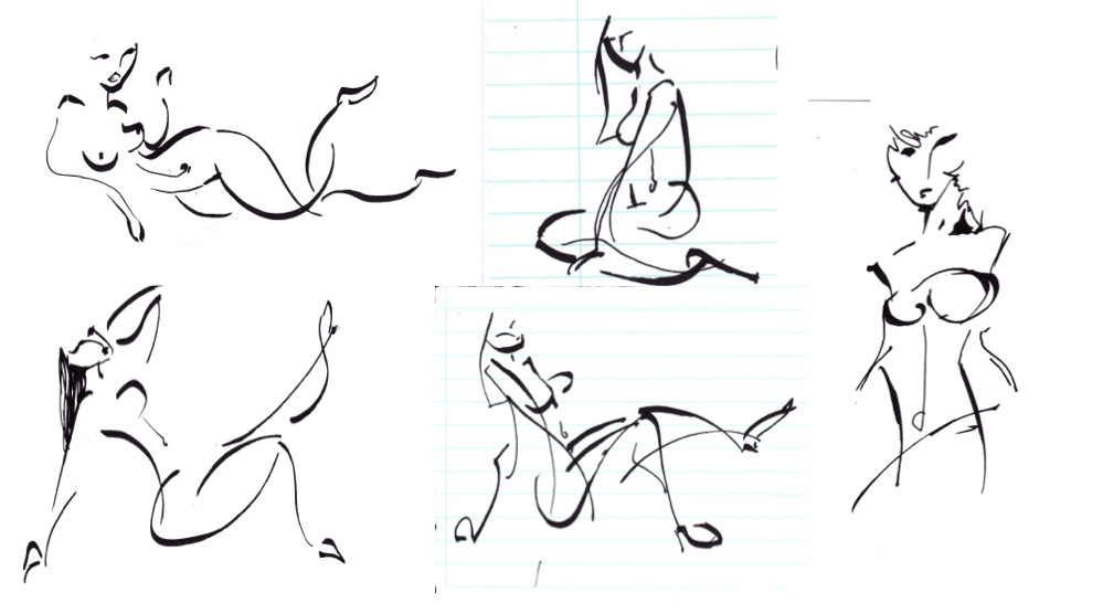 Gesture drawings by pcanjjaxdcd