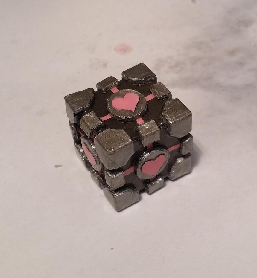Companion Cube by pcanjjaxdcd