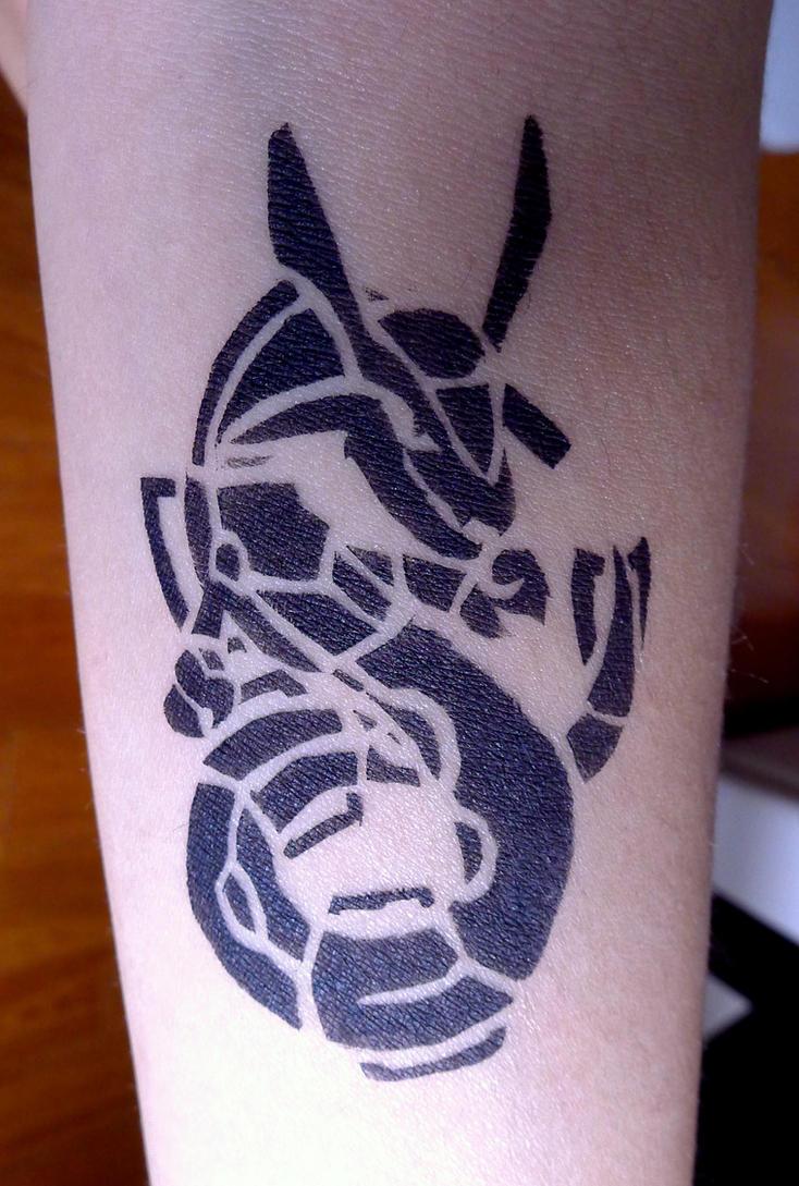 Rayquaza Tattoo by pcanjjaxdcd