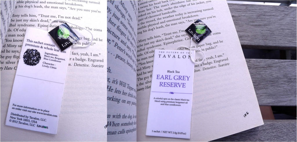 Tea Bookmark by pcanjjaxdcd