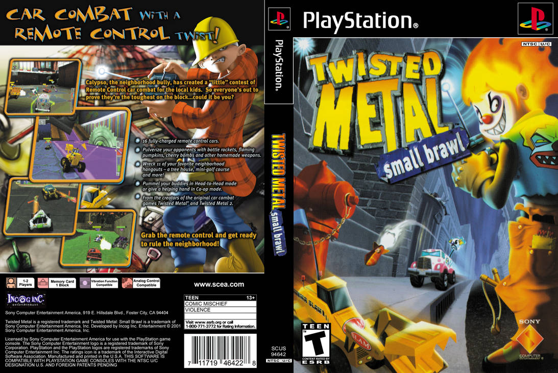 Twisted metal small brawl ps1 download | Twisted Metal
