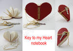 Key to my Heart notebook