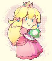 Pink Mario by OCkitten