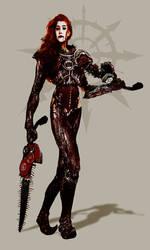 Warhammer 40k - The Red Mistress by DanSlider