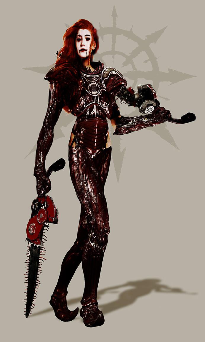 Warhammer 40k - The Red Mistress by DanSlider on DeviantArt