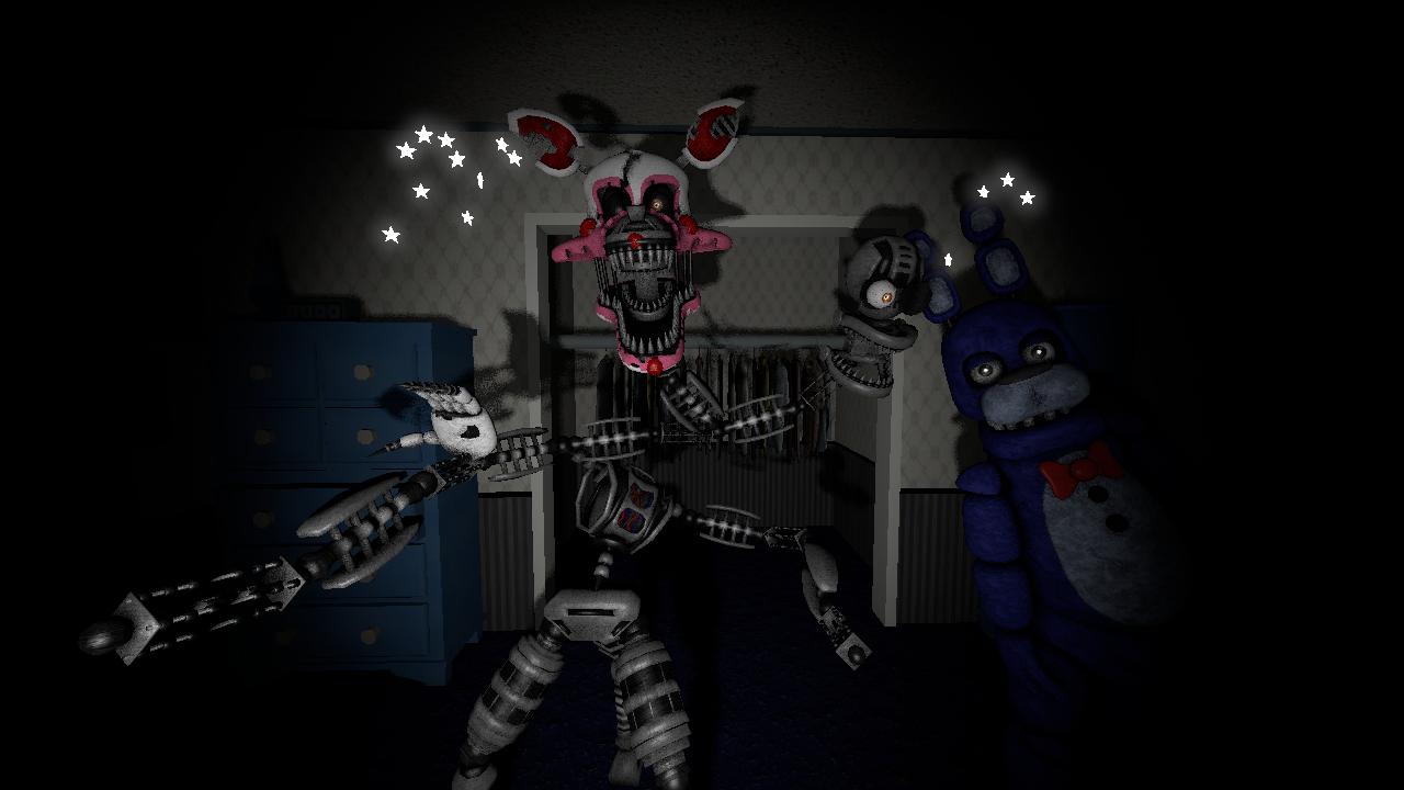 fnaf 4 mangle nightmare - photo #1
