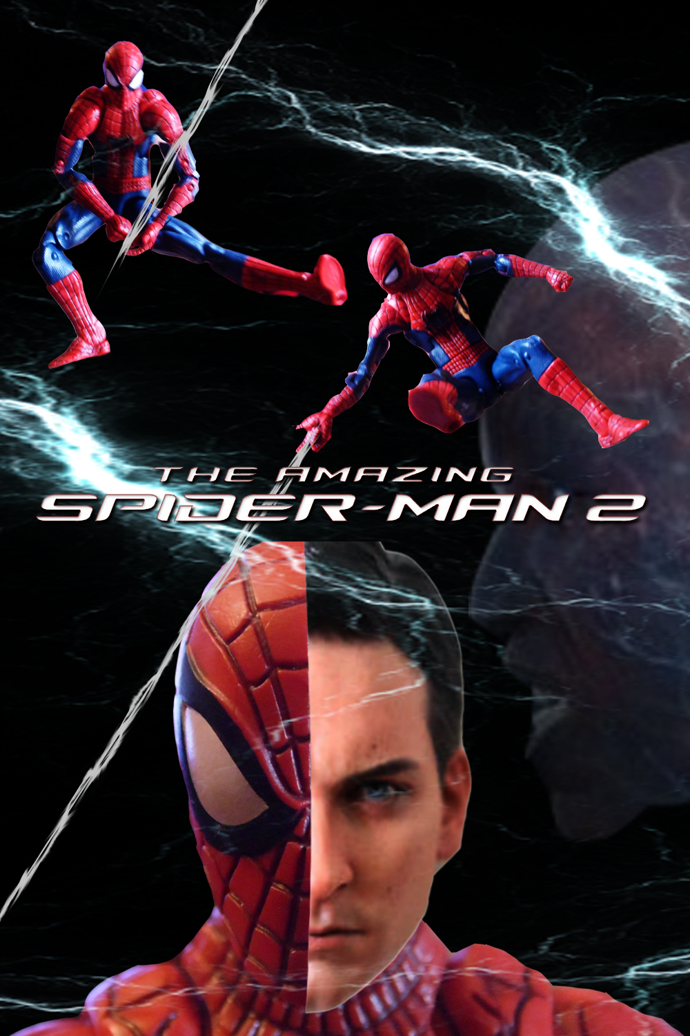 the amazing spiderman 2 movie poster by