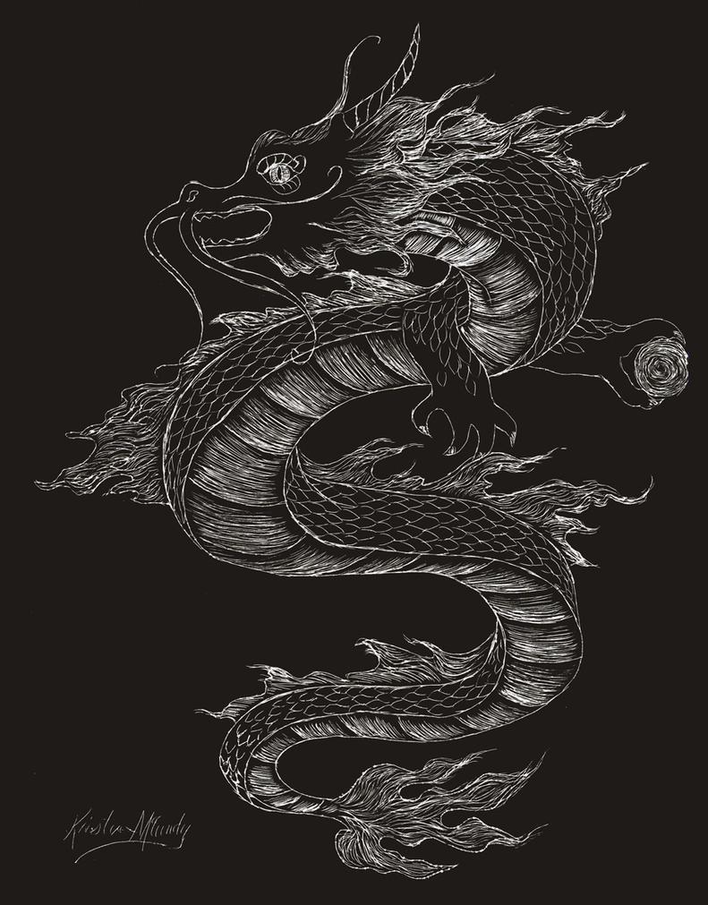 Seiryu, The Azure Dragon by Kchan27