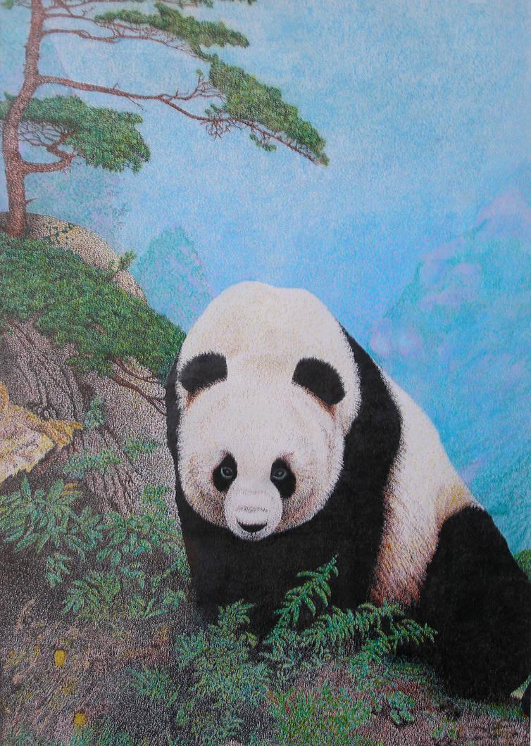 Panda Pointillism