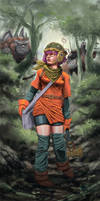 Chrono Trigger : Lucca by LunaKid