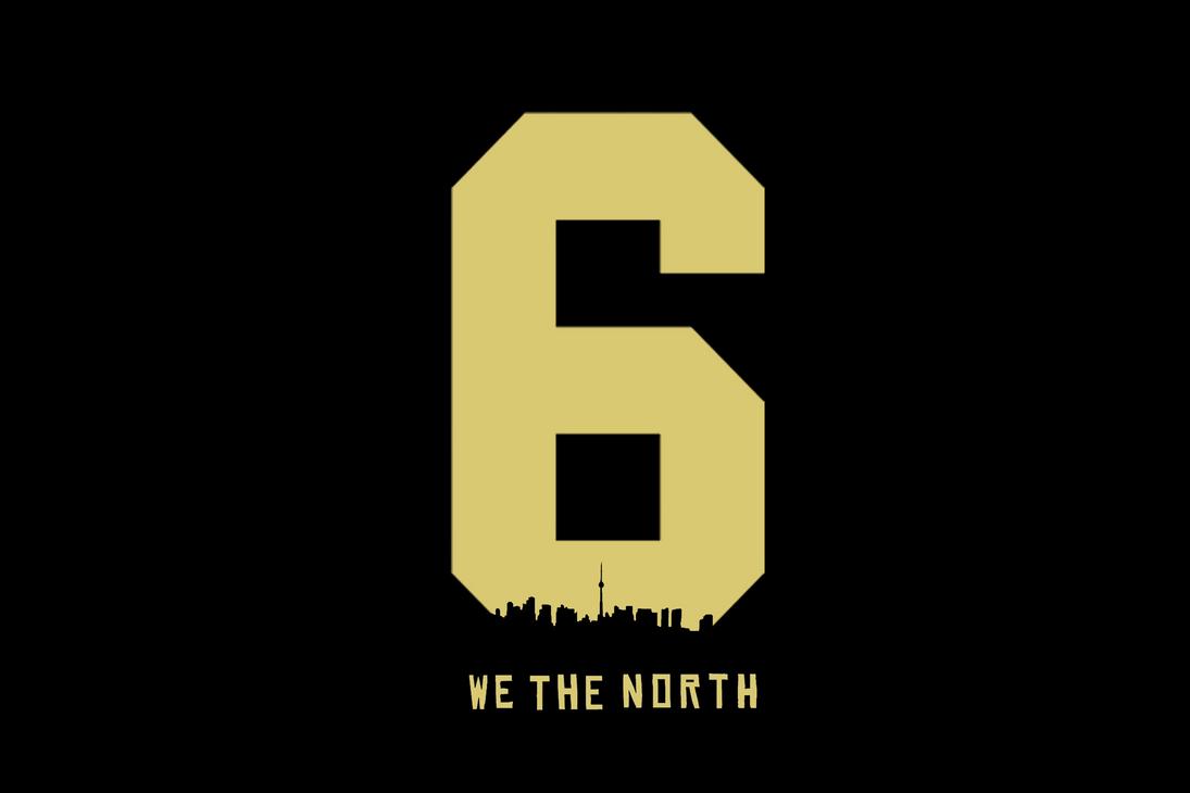 WE THE NORTH 6IX Minimalistic Wallpaper : Torontoraptors