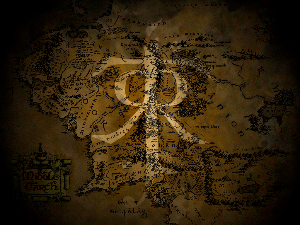 middle earth wallpaper 2johnnyslowhand on deviantart
