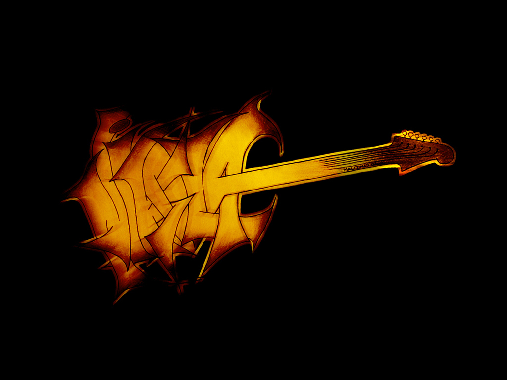 My Guitar Name Logo by JohnnySlowhand on DeviantArt