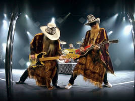 ZZ Top Wallpaper by JohnnySlowhand