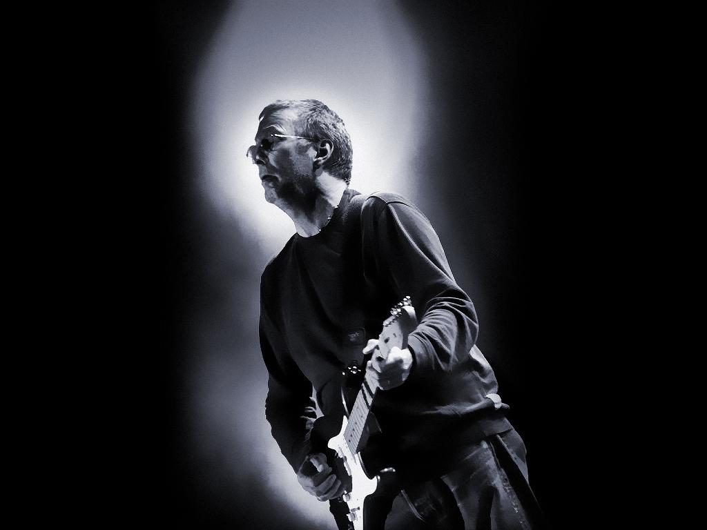 Clapton is god wallpaper