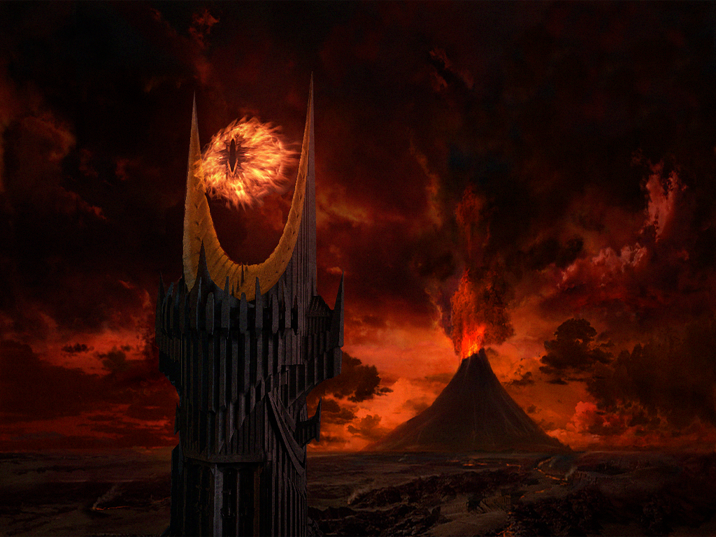 wallpapers Mordor_by_JohnnySlowhand